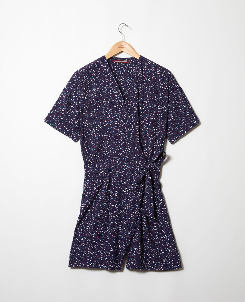 Wickel-Jumpsuit Confetti ink navy Issifi