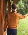 Jacke aus Wildleder Gelb Ganberry