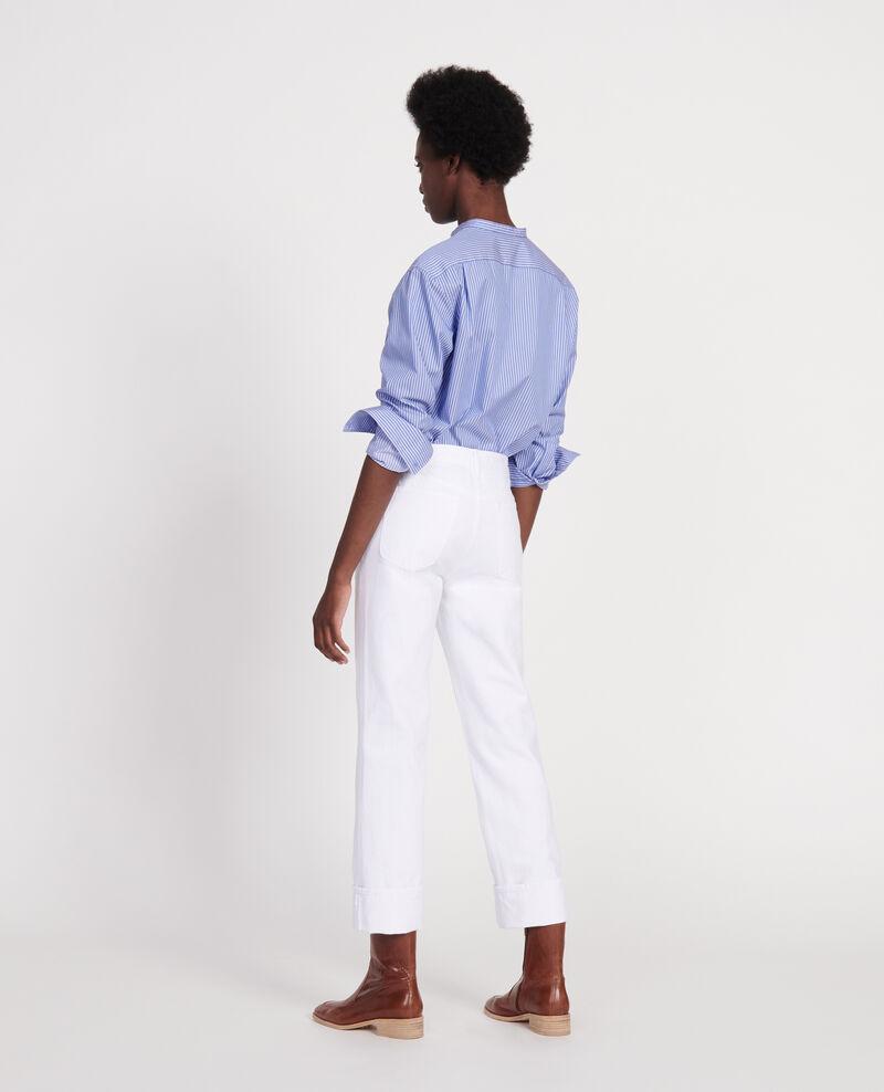 Gerade Jeans Optical white Linny
