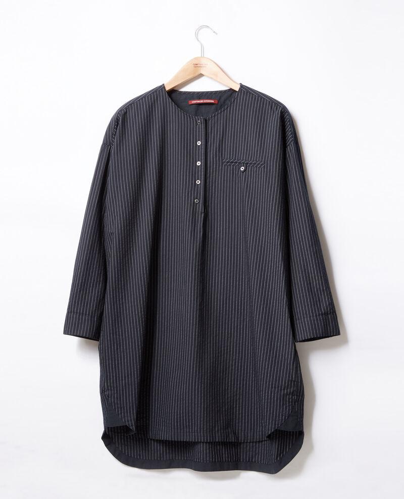 Gestreifte Tunika Navy/off white stripes Facette