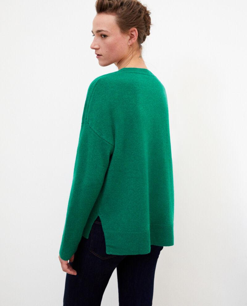 Pullover aus Kaschmir Ultra green Geraldine