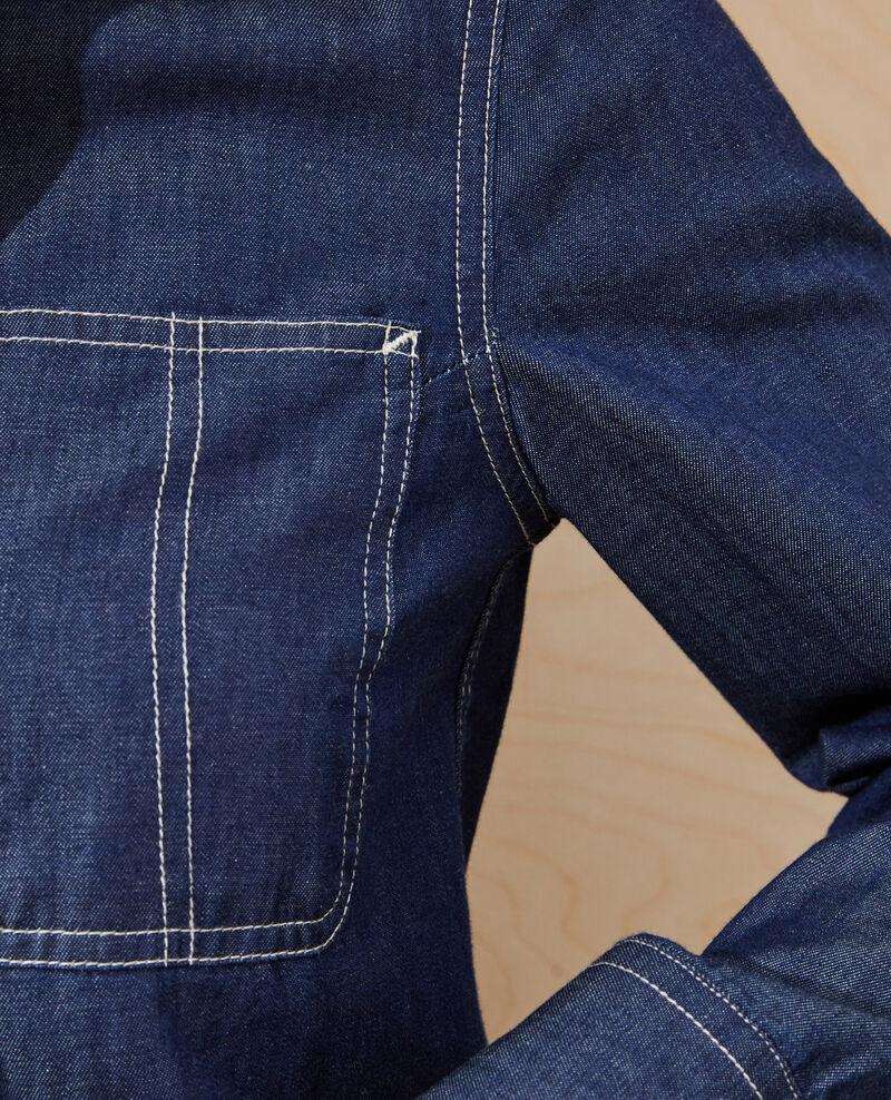 Jeanshemd mit Taschen Denim brut Nadigne