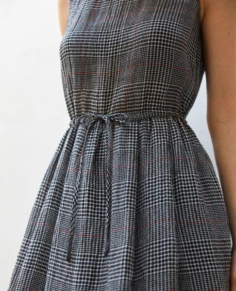 Comptoir des Cotonniers - halblanges kleid mit leinen - 6