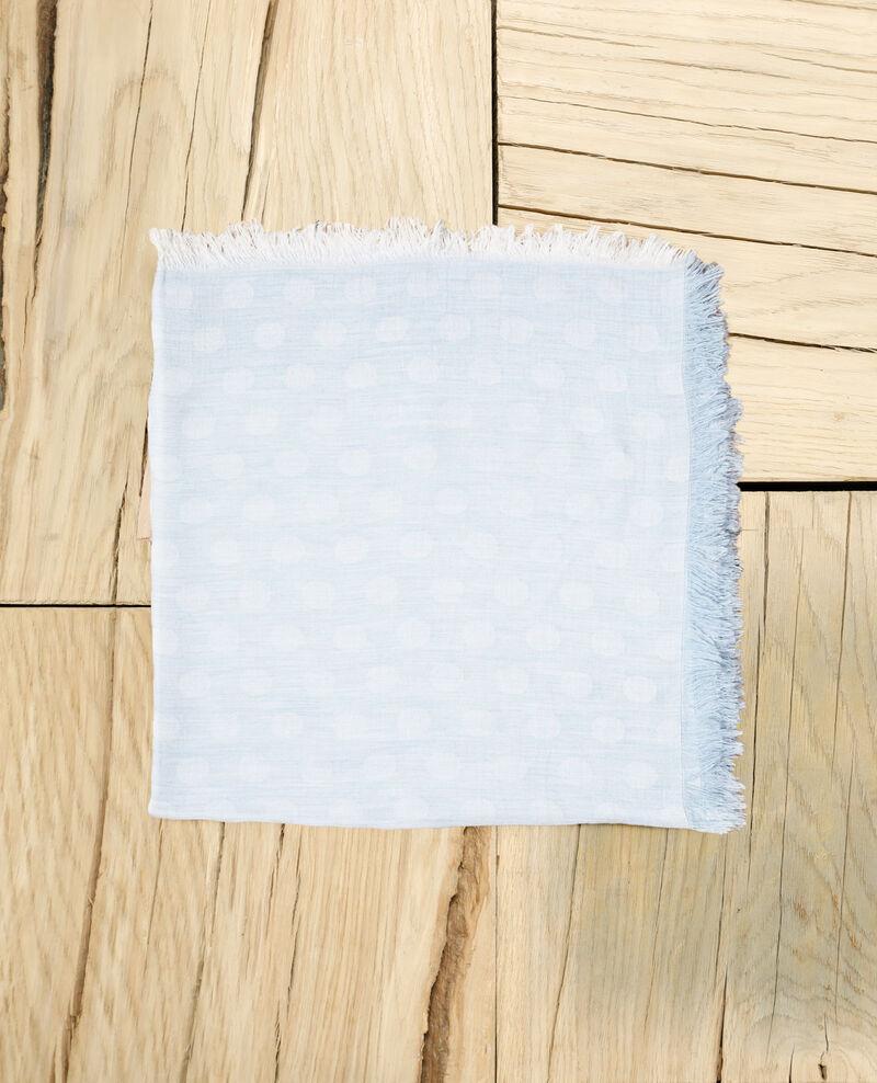 Tuch mit Punkten Bleu Ipois