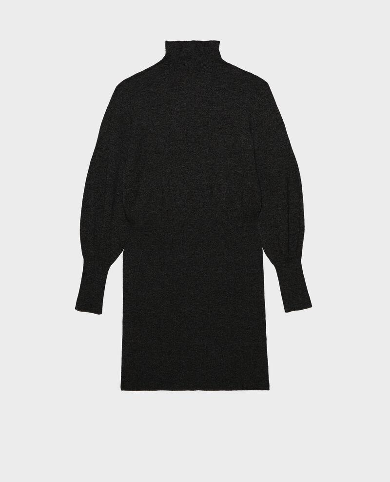 Pulloverkleid aus Kaschmir Black beauty Manin