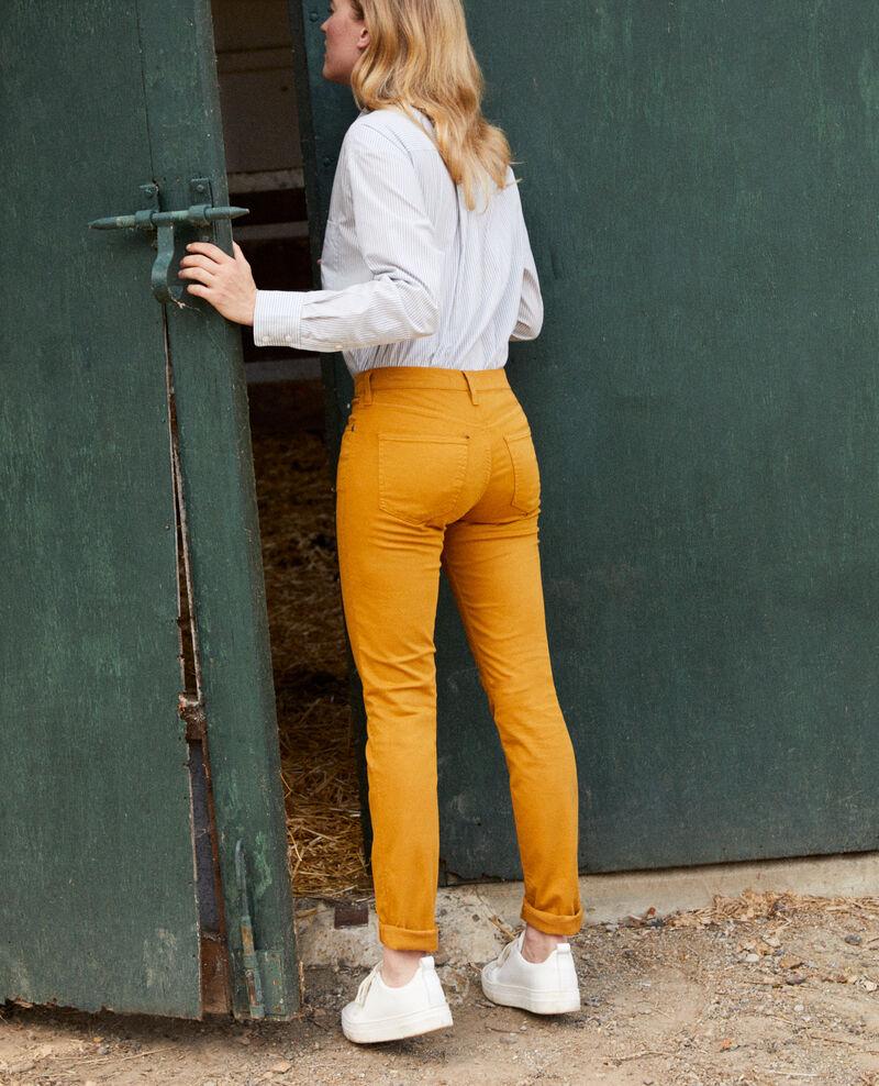 Slim-Jeans Golden brown Jilineto
