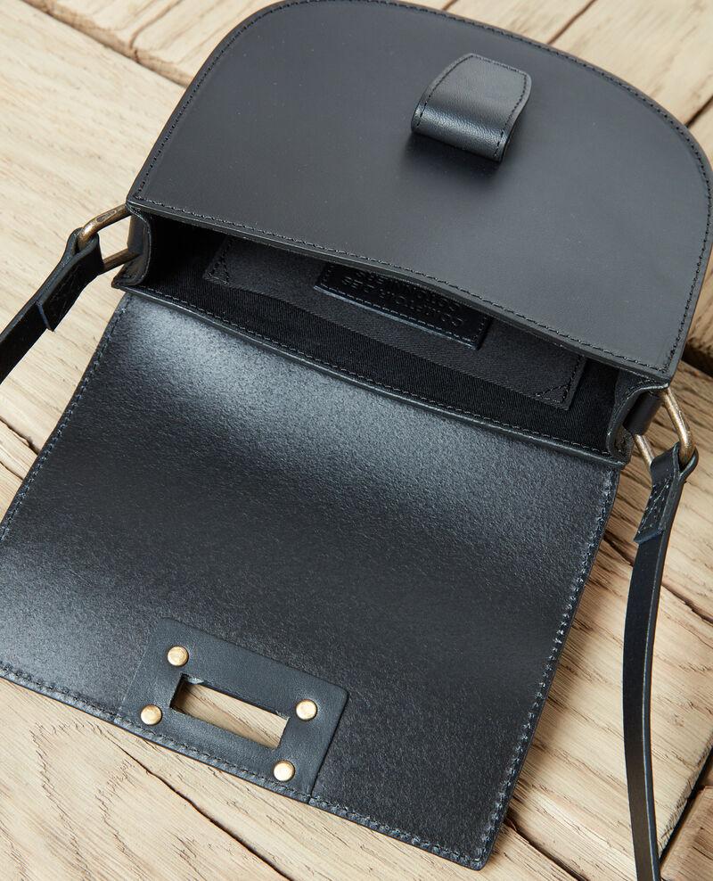Kleine Demi-Lune-Tasche Noir Jordani