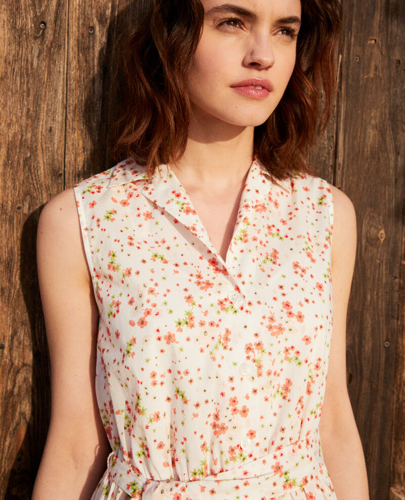 Kleid mit offenem Kragen Primula ow Icranelle