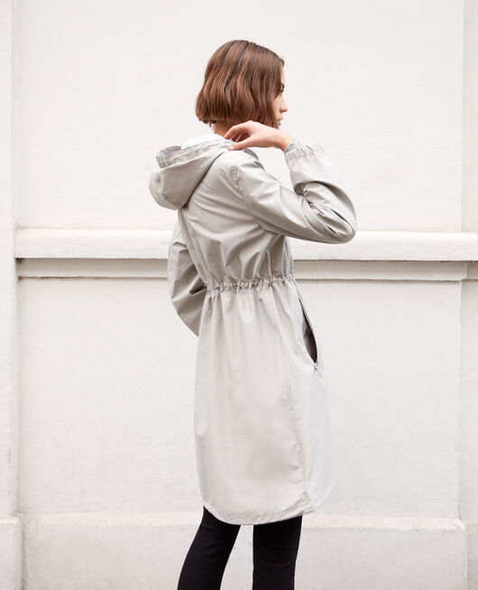 Leichter Parka LIGHT GREY