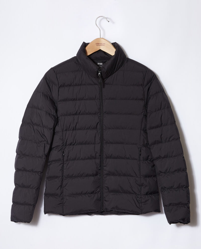 Ultra light Daunenjacke mit Stehkragen Noir Fuldown