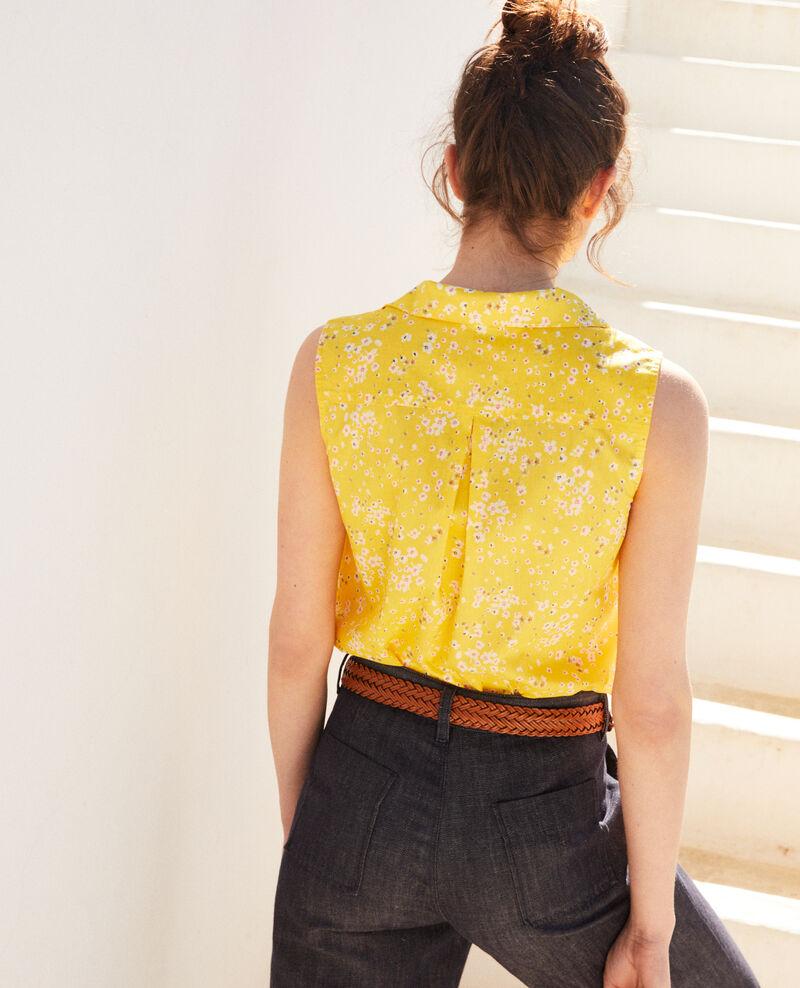 Ärmellose Bluse aus Baumwolle Primula sy Imula