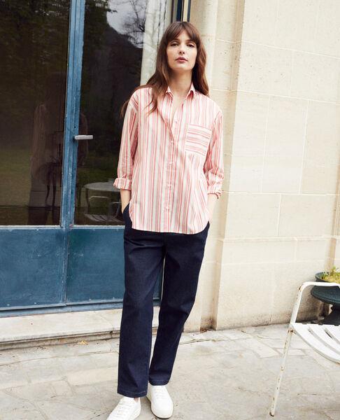 Comptoir des Cotonniers - chemise rayée en coton - 5