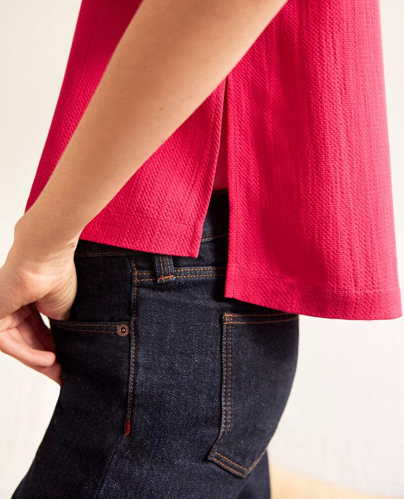 Bluse mit abnehmbarem Band Fushia Ipex