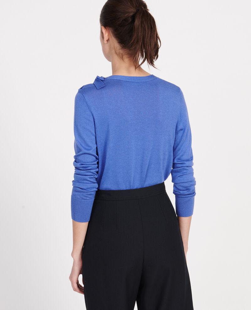 Pullover mit Seide und Kaschmir Amparo blue Lanana