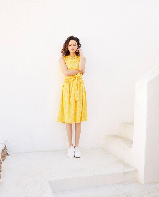Kleid mit offenem Kragen PRIMULA SY