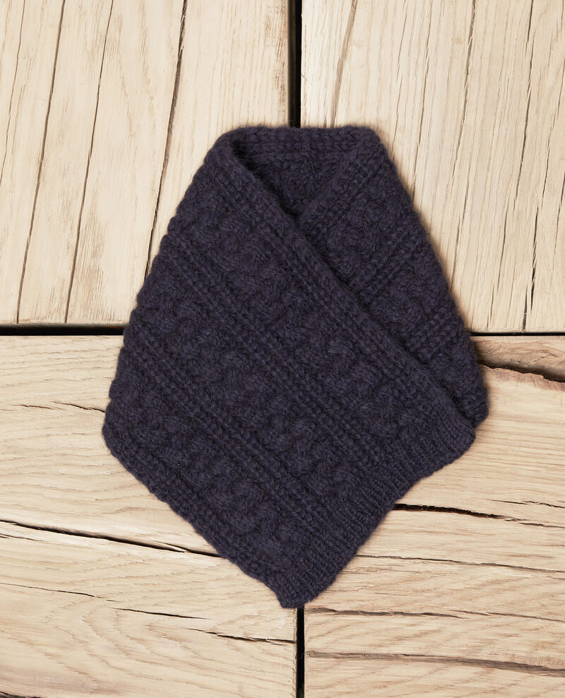 Strickkragen Dark navy Jidule