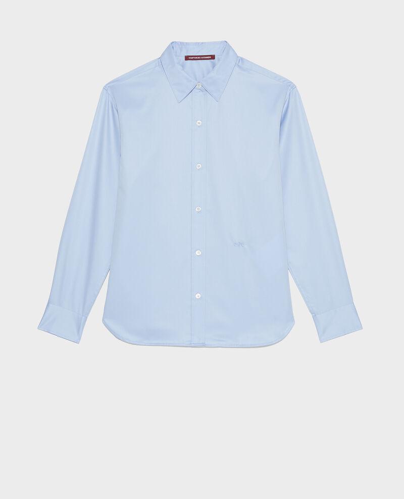 Herrenhemd aus Supima-Baumwolle Classic blue Mynde