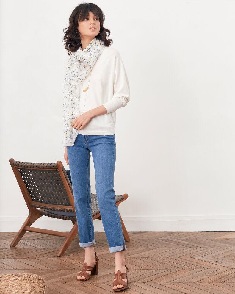 Pullover mit 3/4-Ärmeln Off white Fabienne