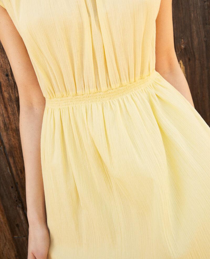 Halblanges Kleid Spice yellow Idem