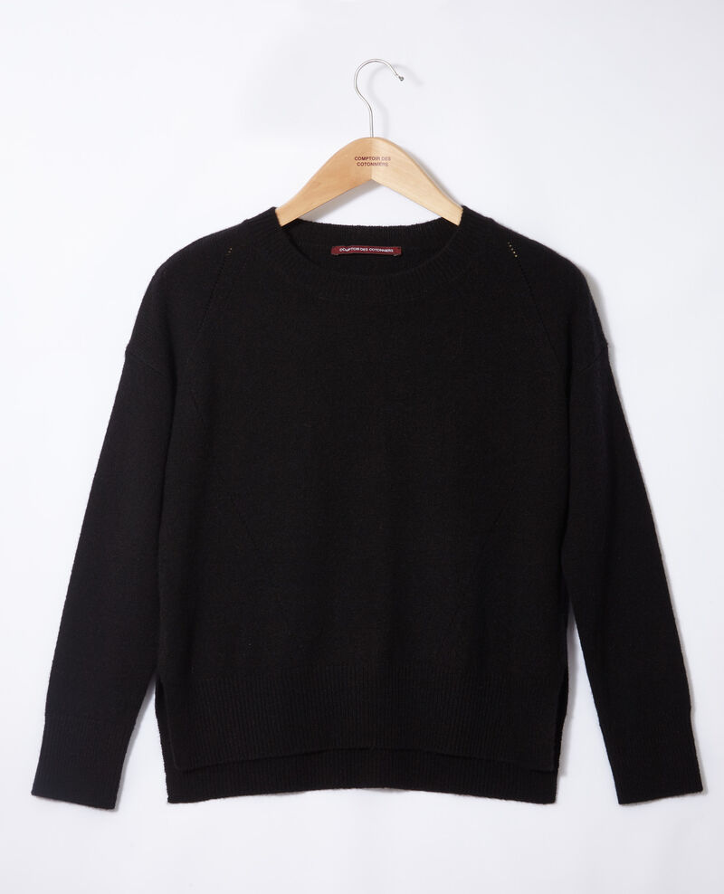 Pullover aus Kaschmir Noir Geraldine