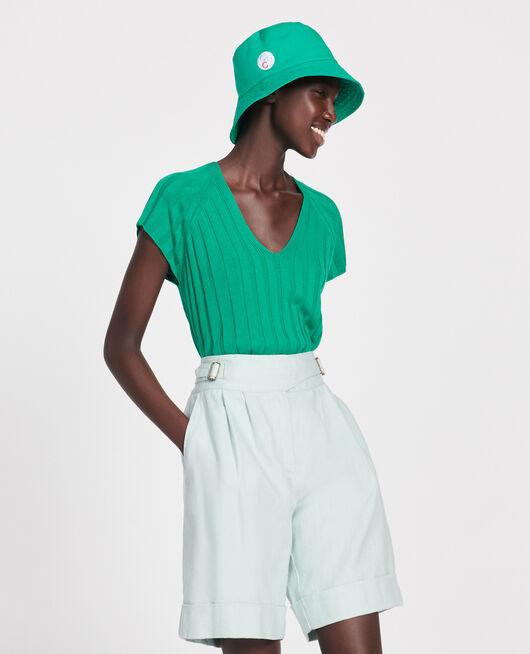 Pullover mit breitem Rippstrick GOLF GREEN