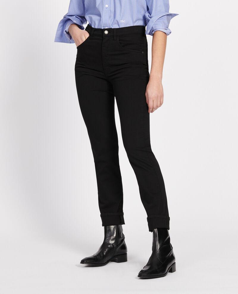 Gerade geschnittene Hose Black beauty Lozanne