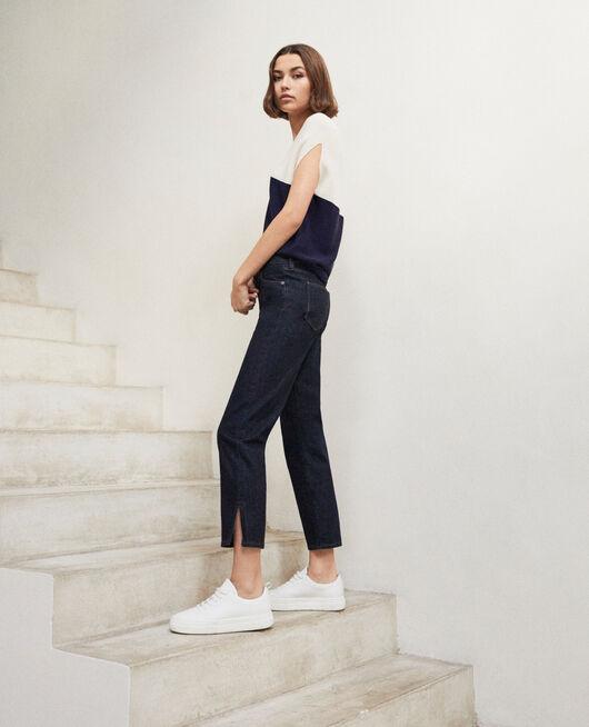 Straight-Jeans mit Schlitz RINSE