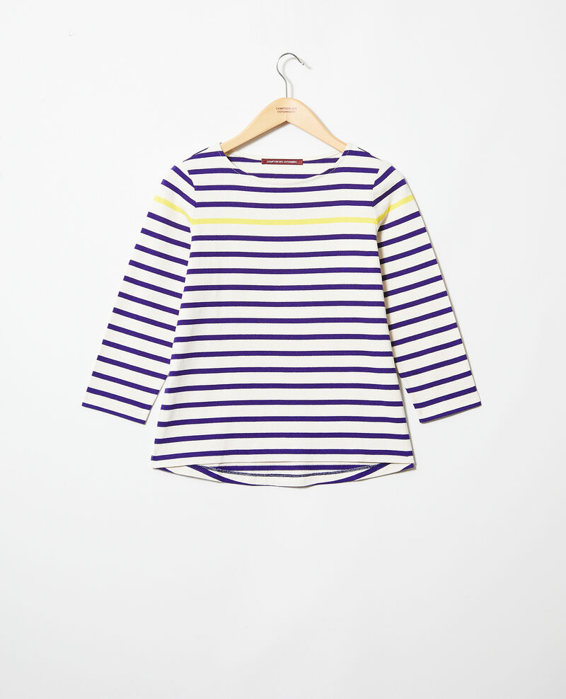 Matrosen-T-Shirt Ow/navy/yello Isteria