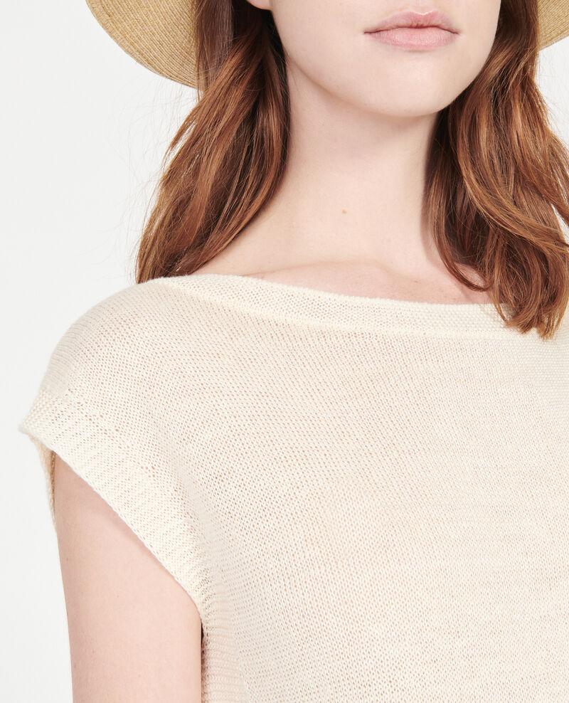 T-Shirt aus Leinen Buttercream Lagardiolle