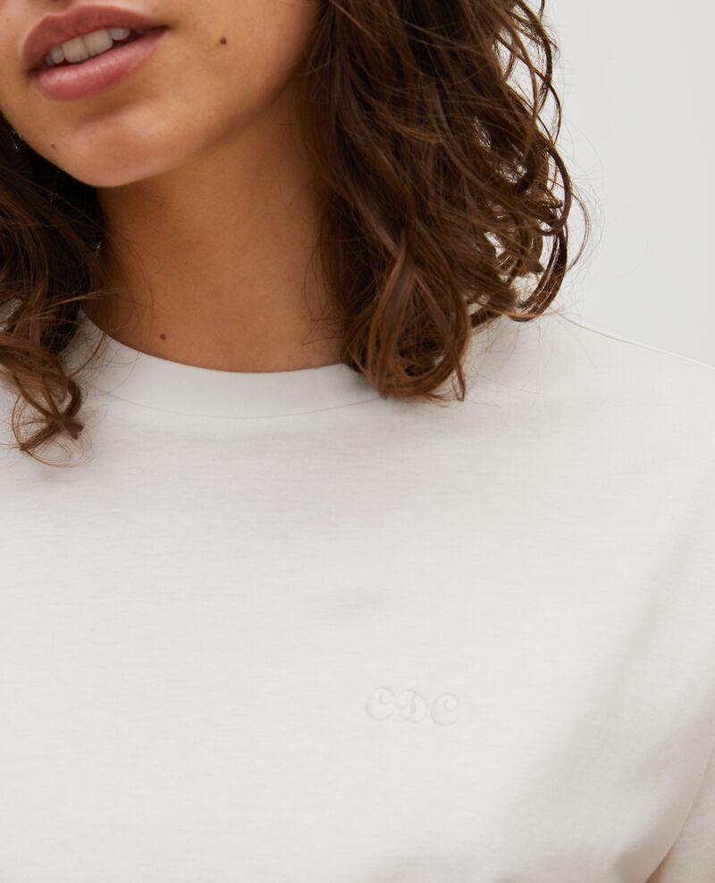 Langärmliges T-Shirt aus Baumwolle Jet stream Mainzac
