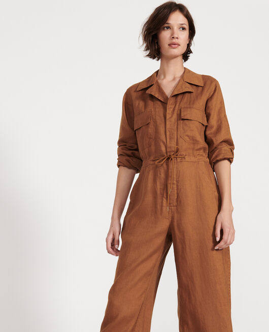 Jumpsuit aus Leinen MONKS ROBE