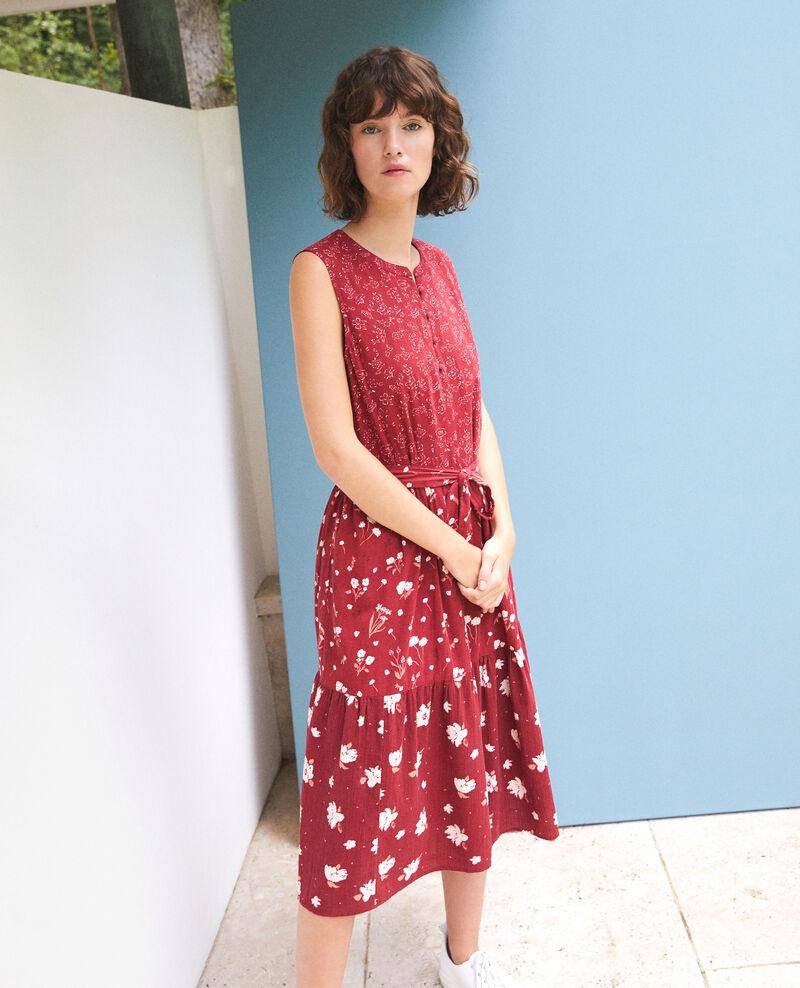 Gemustertes Kleid Anthemis bloom rio red Garry