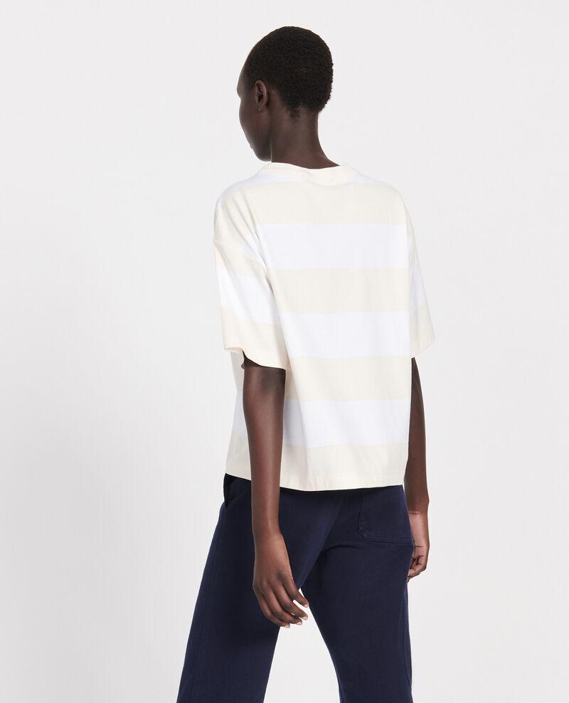 T-Shirt aus merzerisierter Baumwolle Str opticalwhite butter Lord