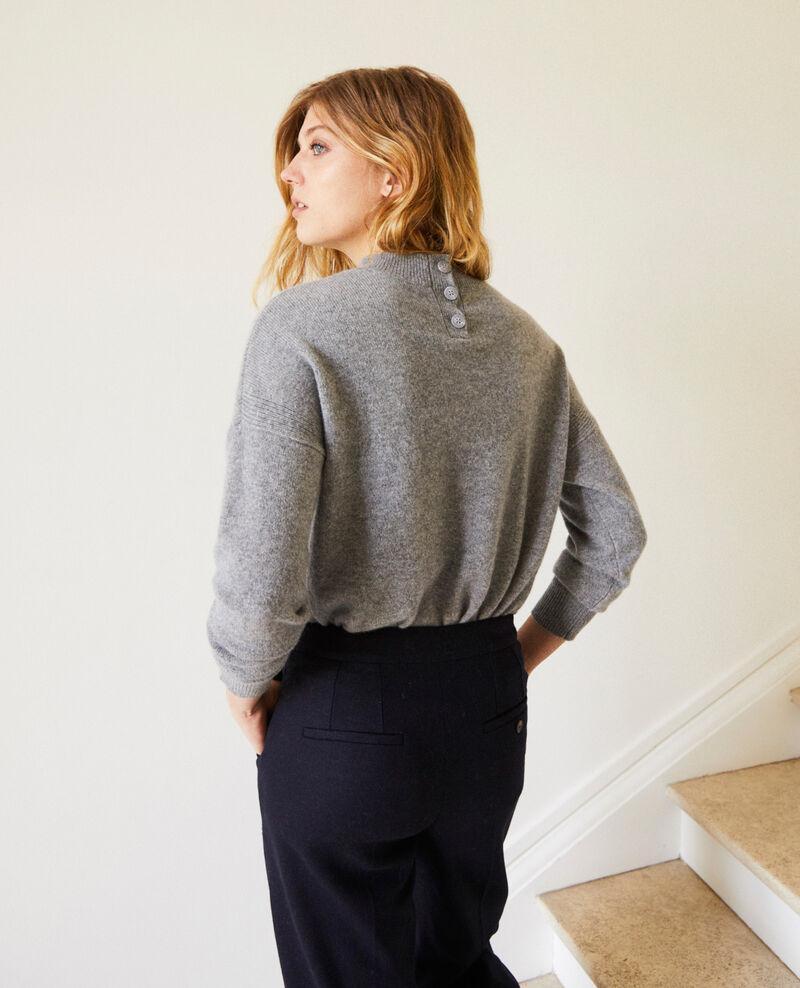 Pullover mit Knöpfen im Rücken Light grey Jook