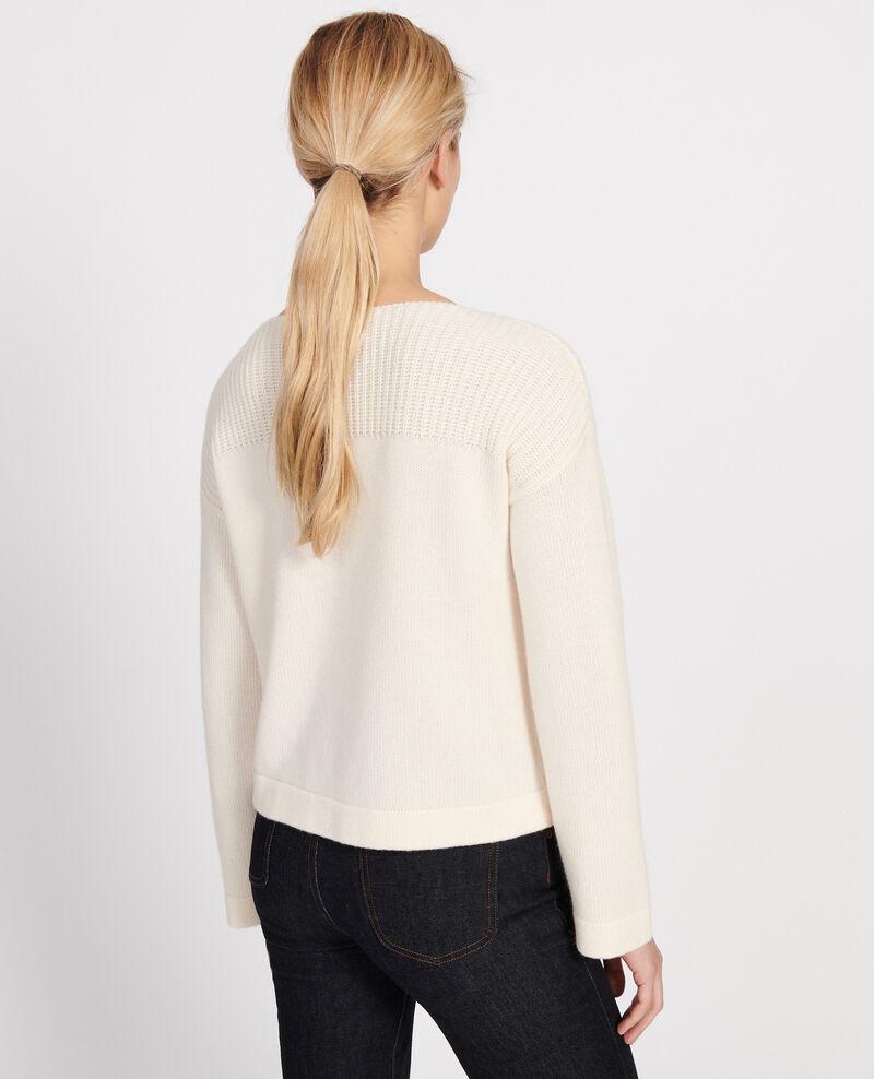 Pullover aus Wolle und Kaschmir Buttercream Lalane