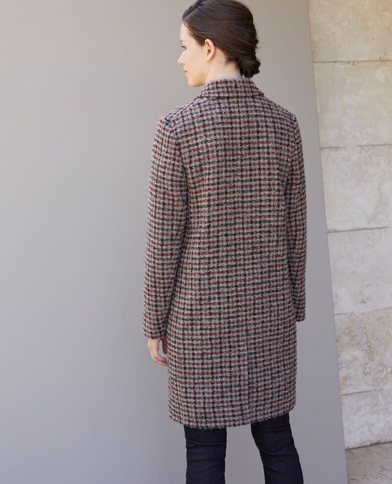 Kurzgeschnittener Mantel Rot Gitchinie