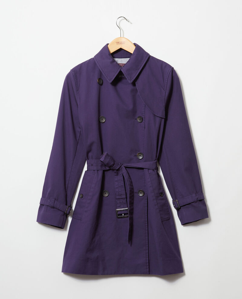 Zeitloser Trenchcoat Ink navy Isore