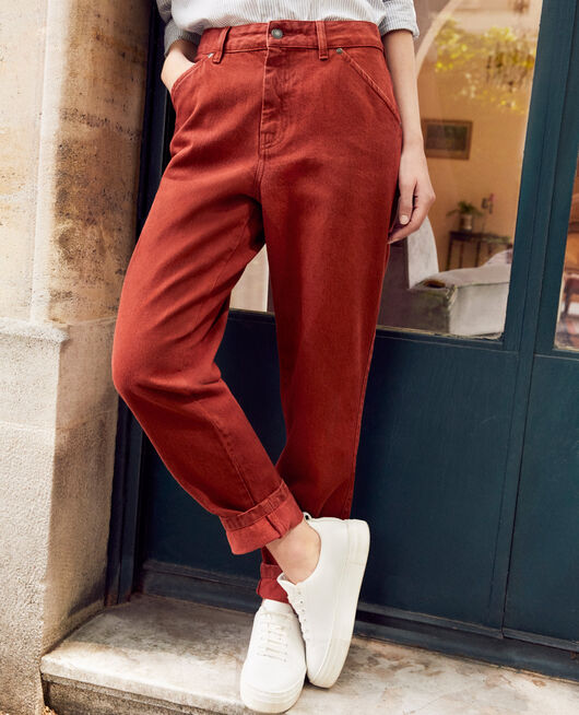Jeans mit trendiger Passform BRANDY BROWN