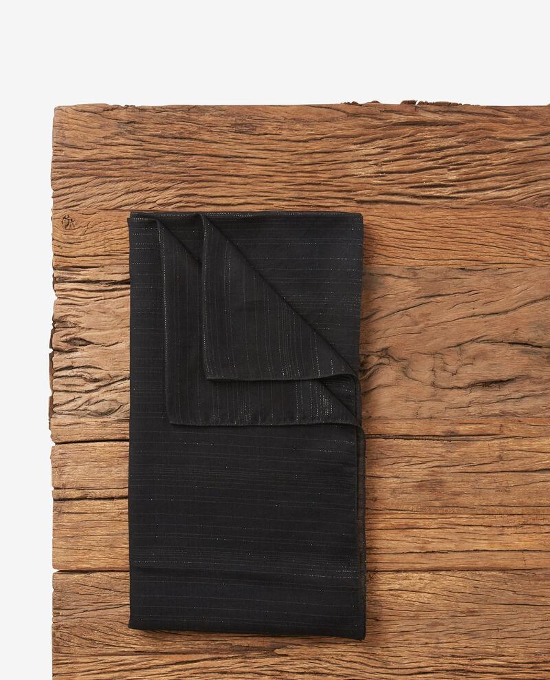 Tuch mit Lurex-Details Noir Doffrir