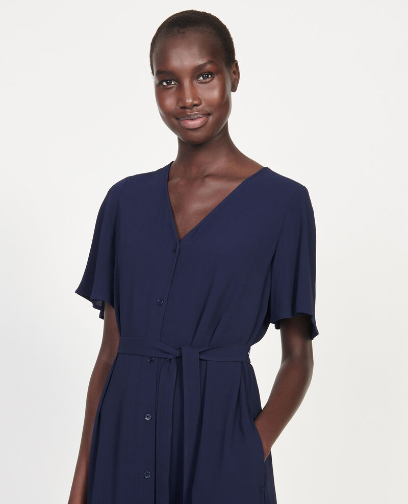 Fließendes Kleid Maritime blue Lavishort
