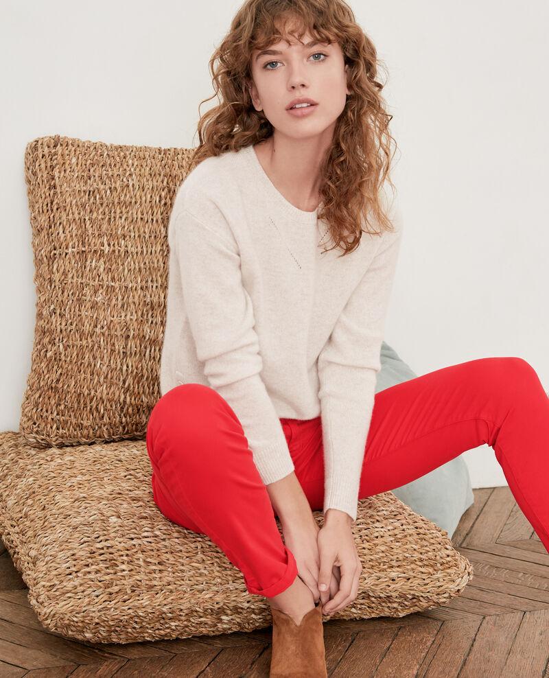Pullover aus Kaschmir Heather chalk Falkner