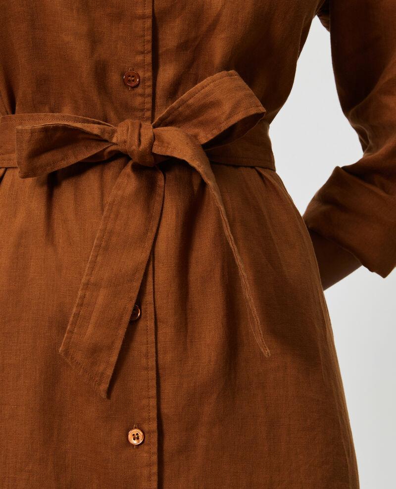 Hemdkleid aus Leinen Monks robe Lesprit