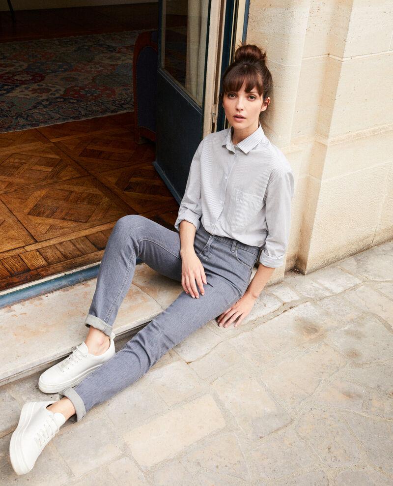Skinny-Jeans Grey Jiloum