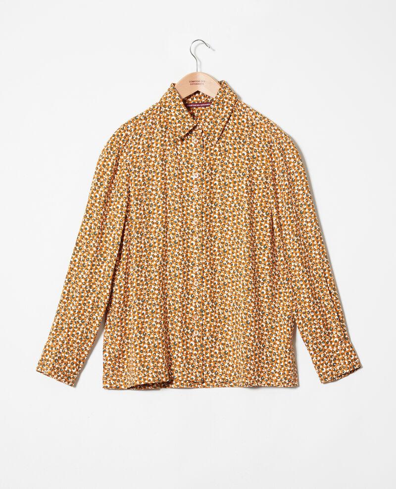 Gemusterte Bluse Leopard thai curry Jumulus