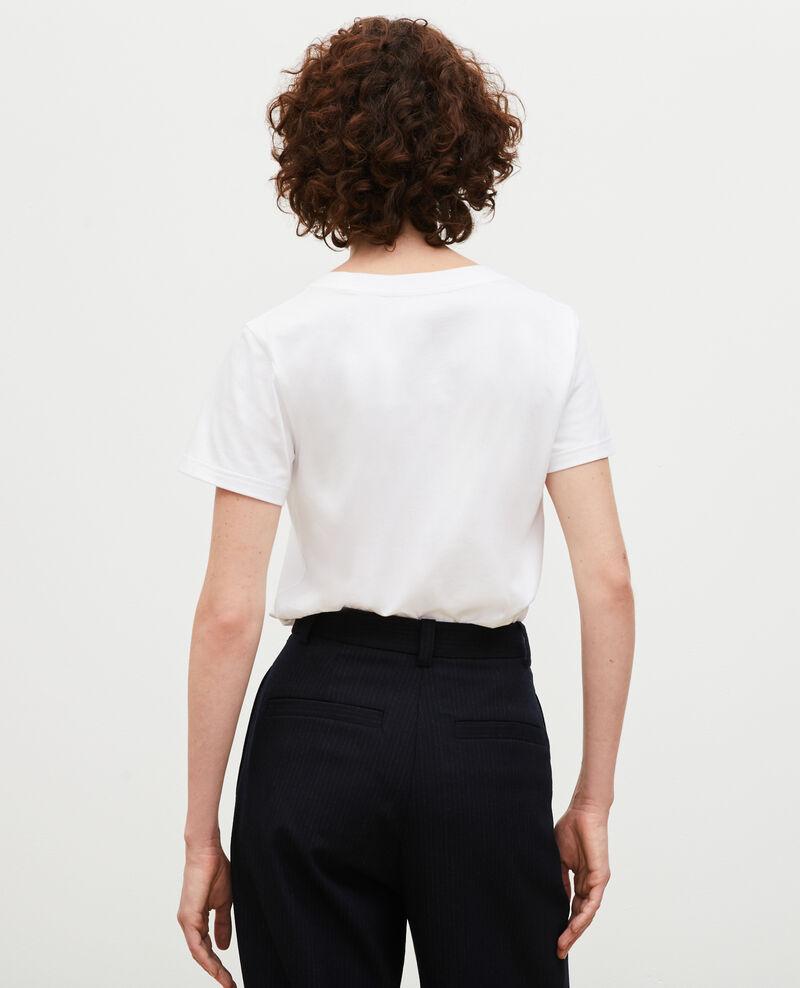 T-Shirt aus Baumwolle mit kurzen Ärmeln Landes Magali