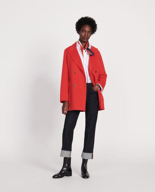 Kurzer Mantel FIERY RED