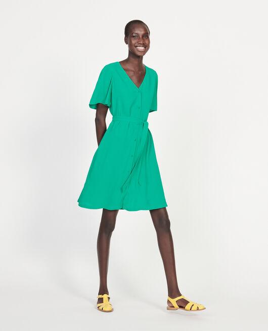 Fließendes Kleid GOLF GREEN