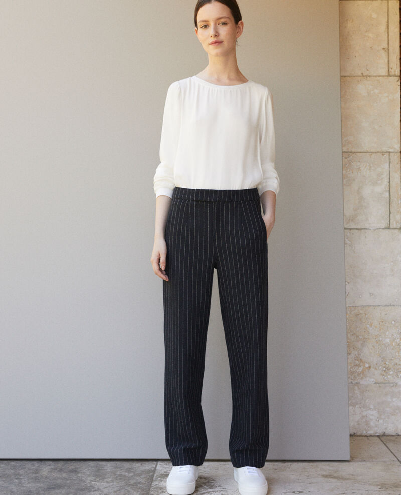 Dicke Hose Navy/off white Gylopa