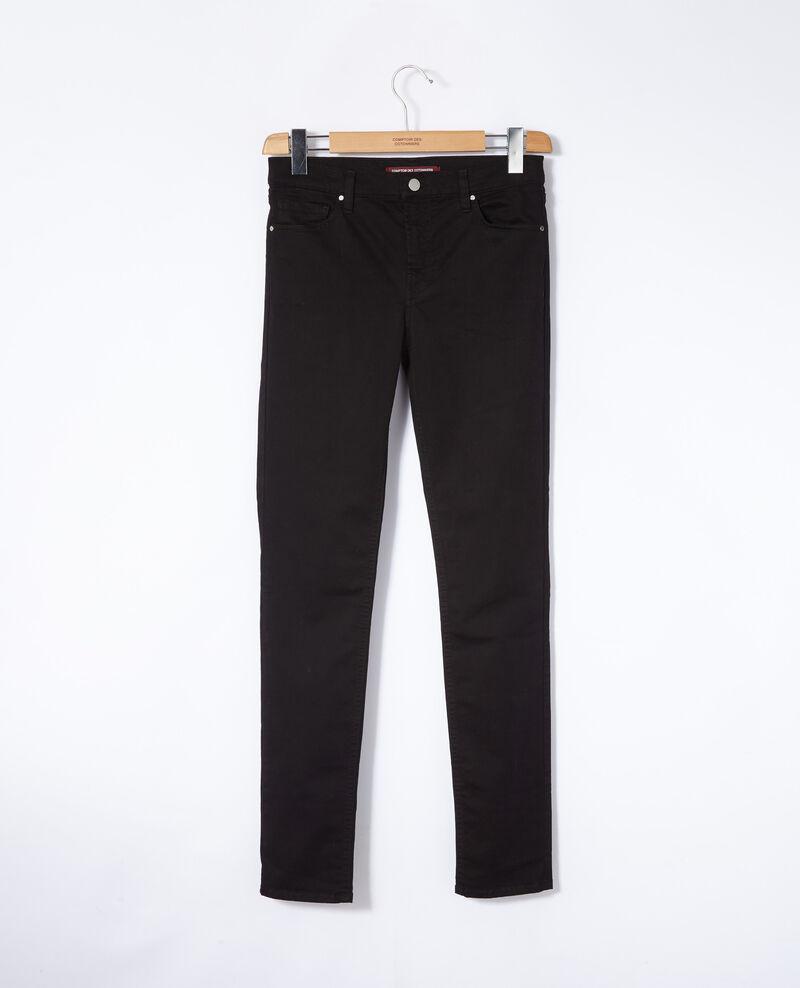 Slim-Jeans Schwarz Goneto