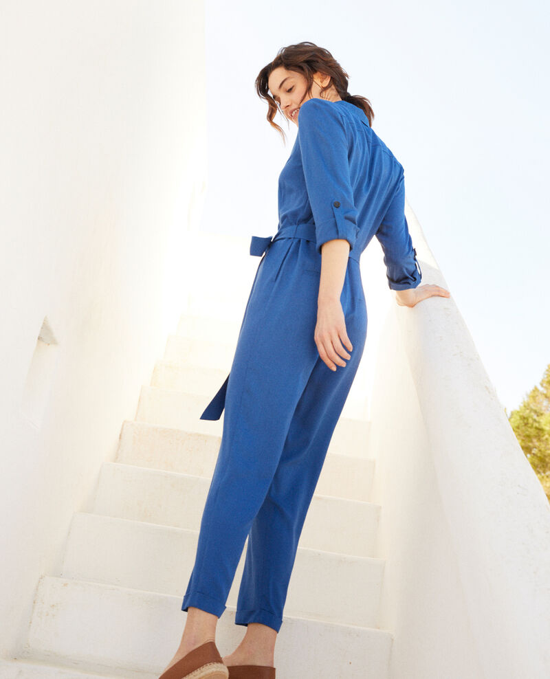 Hemd-Overall Imperial blue Ioasis